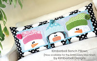 Kimberbell Designs | Whimsy Winter Bench Pillow - Machine Embroidery