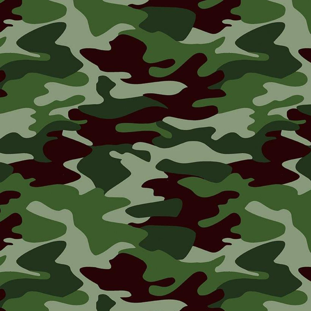 Nobody Fights Alone - Camouflage Green | C10420R-GREE