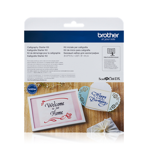 Brother ScanNCut | Calligraphy Starter Kit