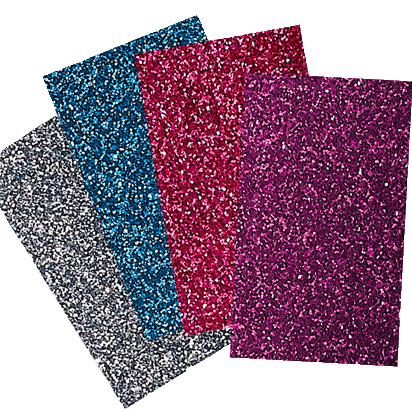 Brother ScanNCut | Iron-on Transfer Film Glitter - Bright Colors