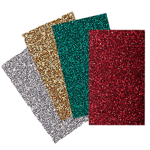 Brother ScanNCut | Iron-On Transfer Glitter Sheets (Holiday Colors)