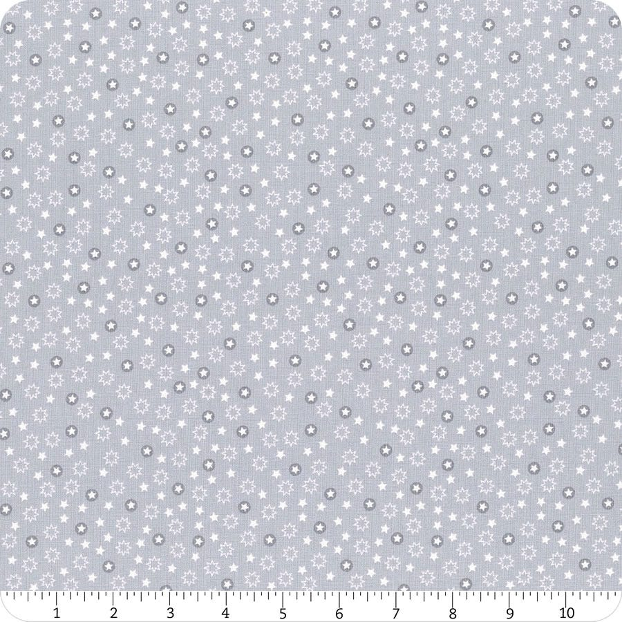 Christmas Trees - Light Grey Christmas Stars | C54.1