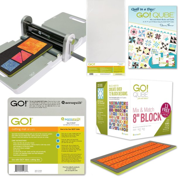 AccuQuilt | Ready. Set. GO! Ultimate Fabric Cutting System