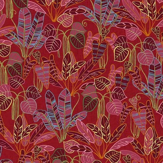Jungle Jive - Red Rain Forest | DCX9764-RED
