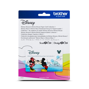 Brother ScanNCut | Mickey & Minnie Collection 1