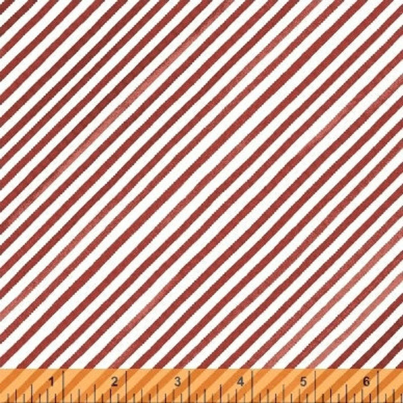 Holly Jolly Christmas - Red Stripes on White | 51173-5