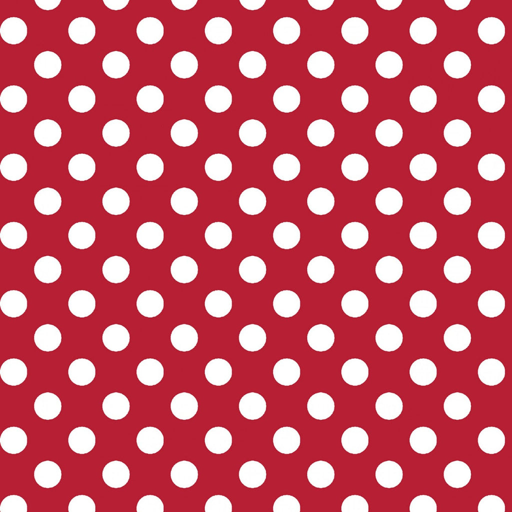 Kimberbell Basics - Red/White Polka Dot | MAS8216-R