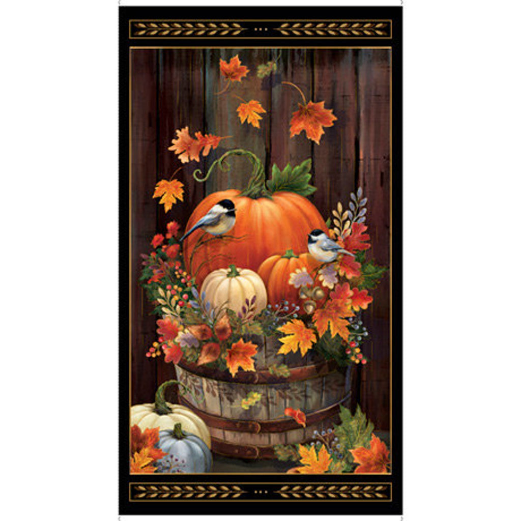 Harvest Elegance - Panel Black | 1649-27669-J