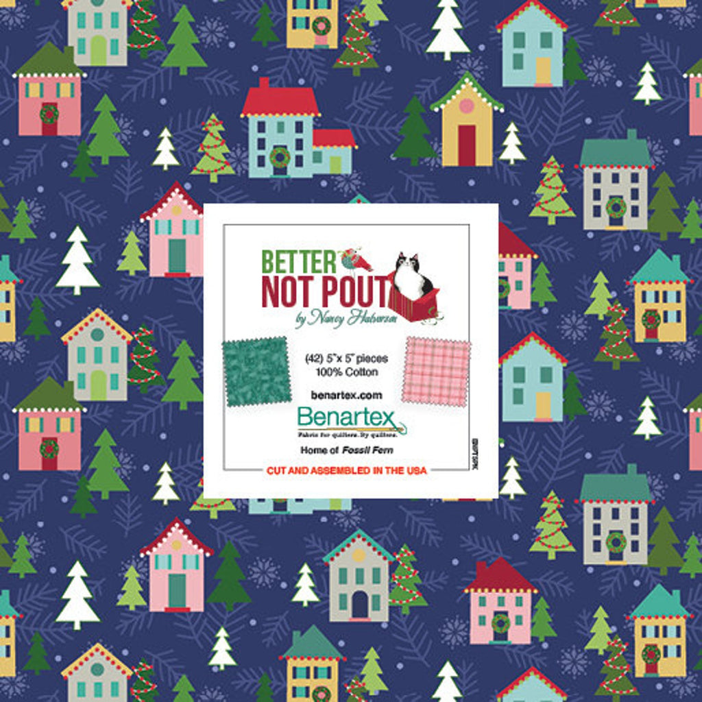 "Better Not Pout 5"" Squares 