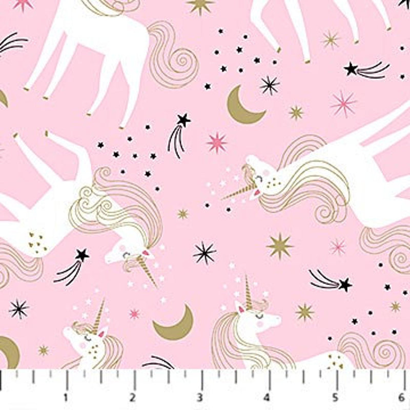 Believe in Magic  - Unicorn Toss Pink | 23229M-21