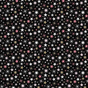 Believe in Magic  - Small Stars Black | 23232M-99