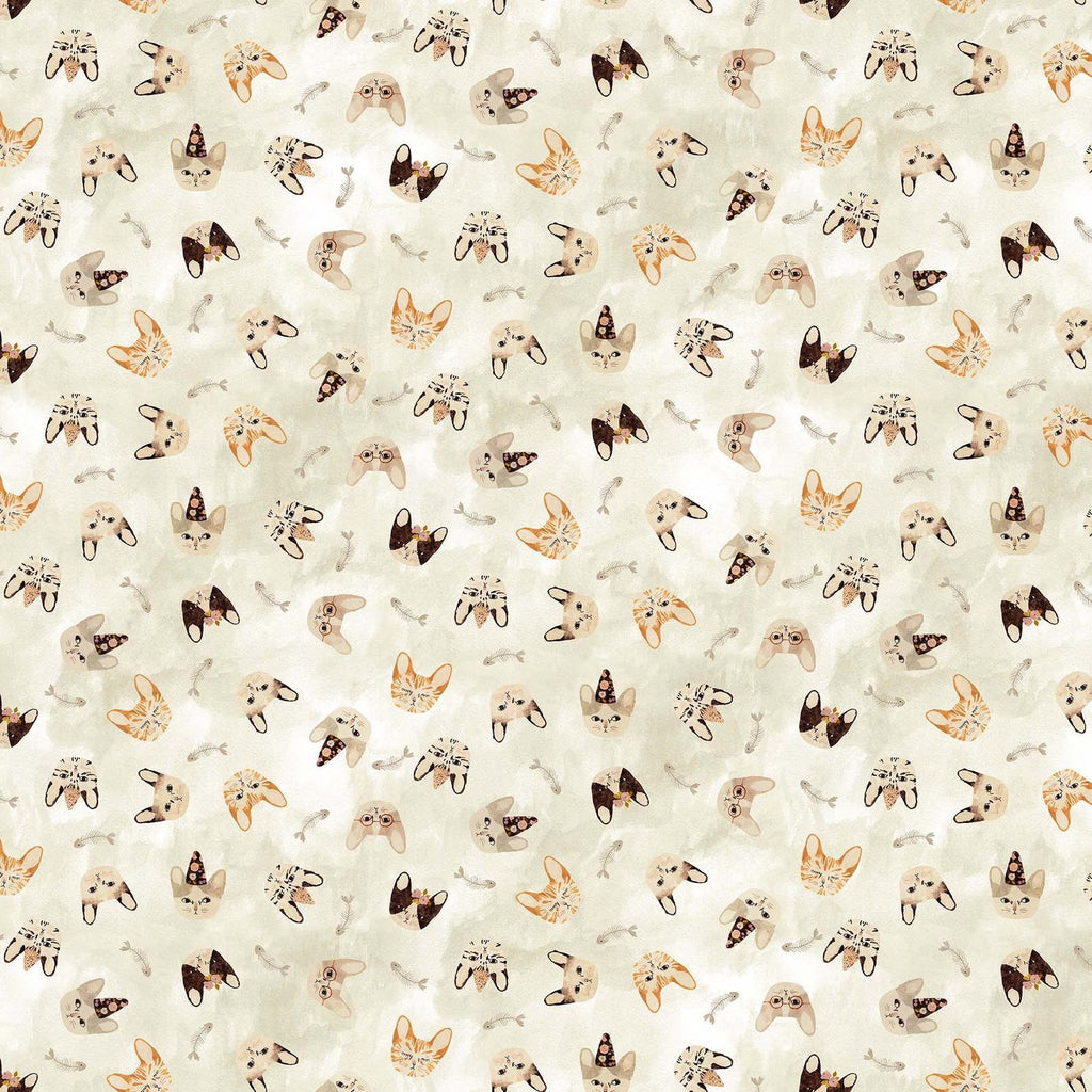Marcel - Cat Heads Cream Multi | 90290-11