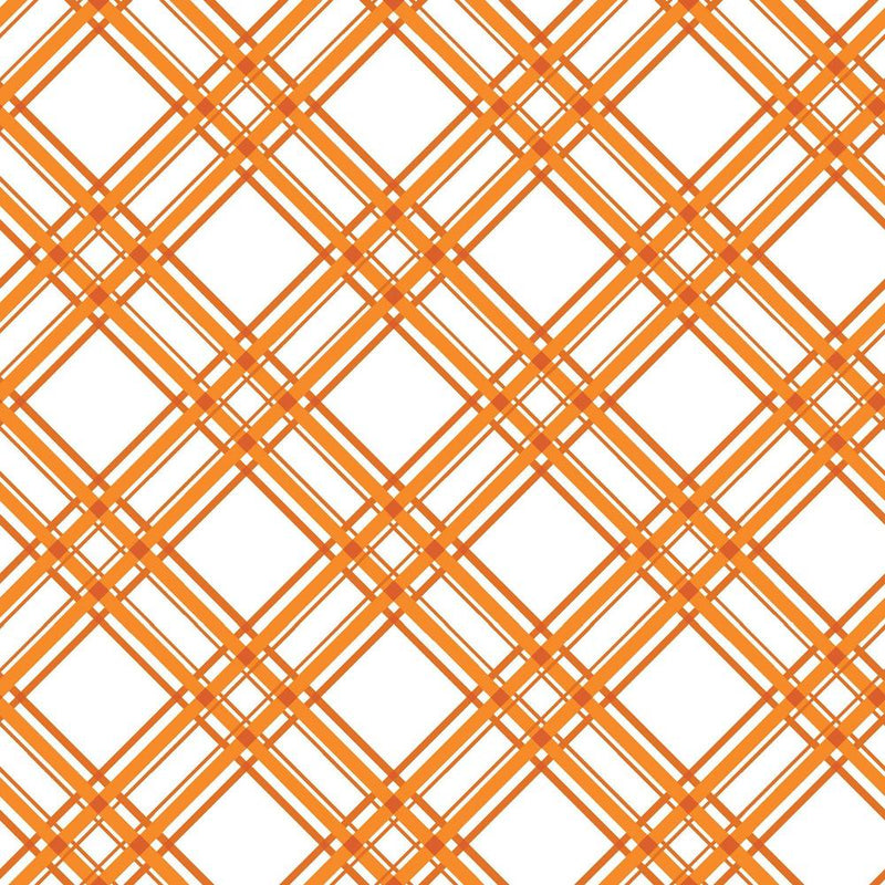 Kimberbell Basics - Plaid Orange | MAS8244-O