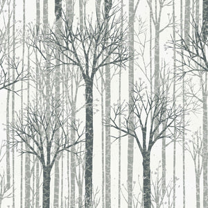 Winter Forest - Trees White/Silver | Q7650-3