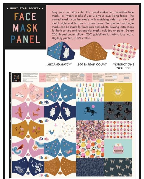 Ruby Star Society - Face Mask Panel | RS5036