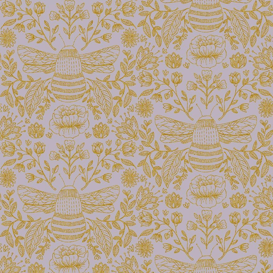 Summer in the Cotswolds - Bee's Knees Dusk Metallic | JM202-DU3M