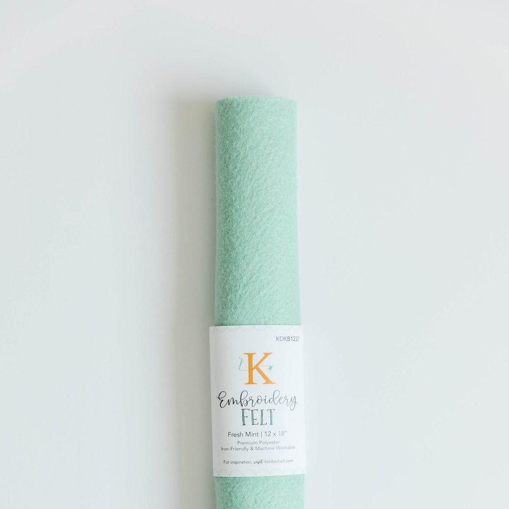 Kimberbell Designs |  Embroidery Felt - Fresh Mint