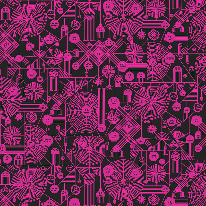Across the Universe - Web Attack Neon Pink | RH103-NP4NP