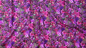 Bloom Bloom Butterfly - Moonlit Blooms Mulberry | RJ1203-MU1