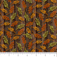 Harvest Elegance - Leaf Sprigs Brown | 1649-27672-A