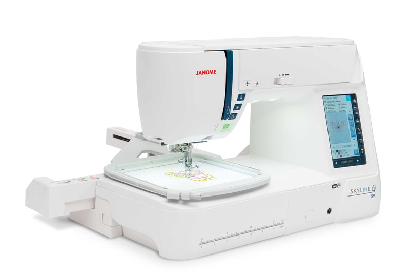 Janome Skyline S9 | Sewing & Embroidery Machine