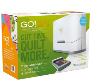 AccuQuilt | GO! Big Electric Fabric Cutter Starter Set