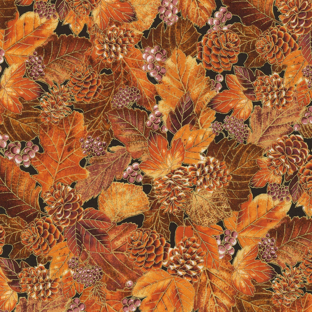 Autumn Beauties - Spice Metallic | SRKM-19319-163