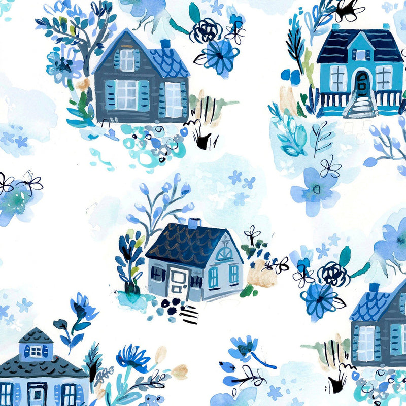 Blue Crush - Cottages White | STELLA-DAW1294