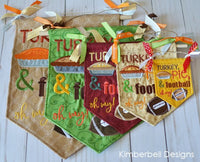 Kimberbell Designs | Pennants & Banners: Happy Fall Y'All - Machine Embroidery