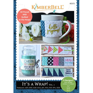 Kimberbell Designs | It's A Wrap! Vol. 1 - Machine Embroidery