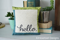 Kimberbell Designs | Make Yourself at Home - Machine Embroidery