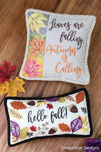 Kimberbell Designs | Bench Buddies Sept.-Dec. - Machine Embroidery