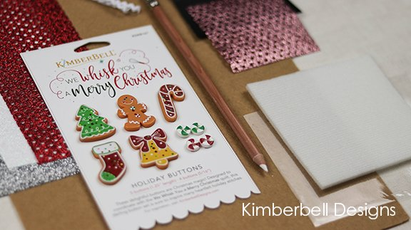 Kimberbell Designs | We Whisk You a Merry Christmas Embellishment Kit
