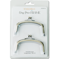 Kimberbell Designs | Clasp Purse Frame - Small Rectangle