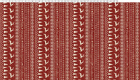 Home For Christmas - Dark Red Stripe | Y431-83