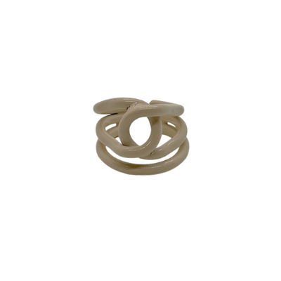 Nude Loop Ring