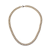 Tarnish-Free Gold Chunky Link Necklace