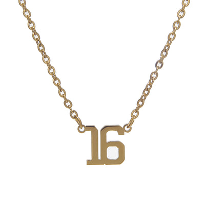 Classic Date Necklace