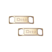 Stylish Copper Customized Shoe Tag - Anna