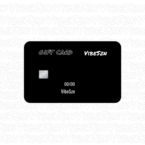 Exclusive VibeSzn $25 Gift Card