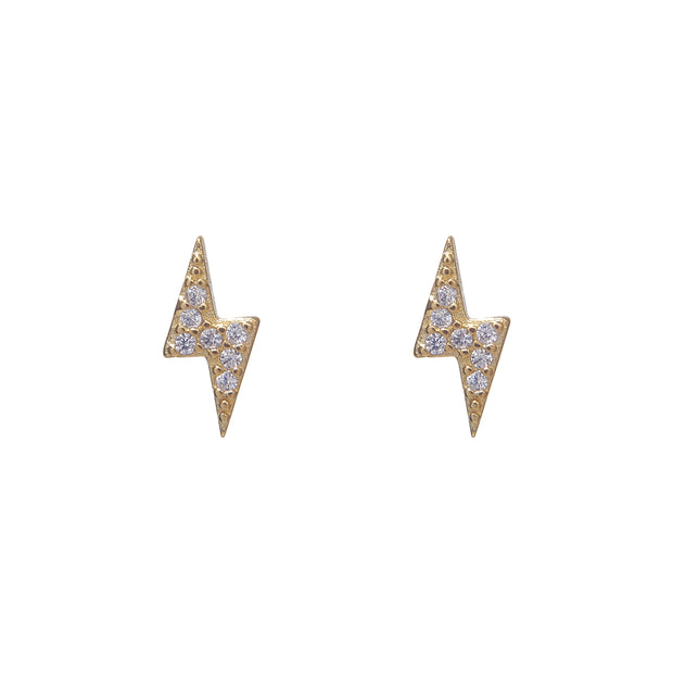 Adorable Gold Stormi Stud Earrings