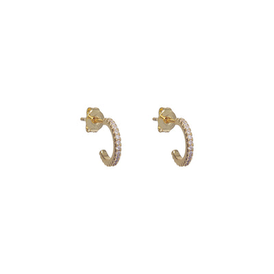 Classic Everyday Gold Stack Huggie Earrings