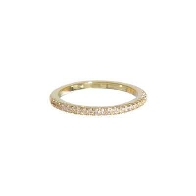 Classic Simple Gold Stacked Ring