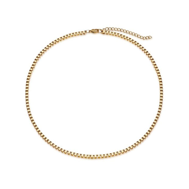 Thick Box Chain Choker