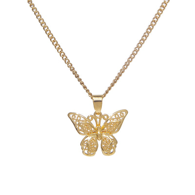Butterfly Effect Pendant Necklace