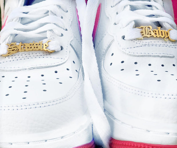 Custom Shoe Nameplates