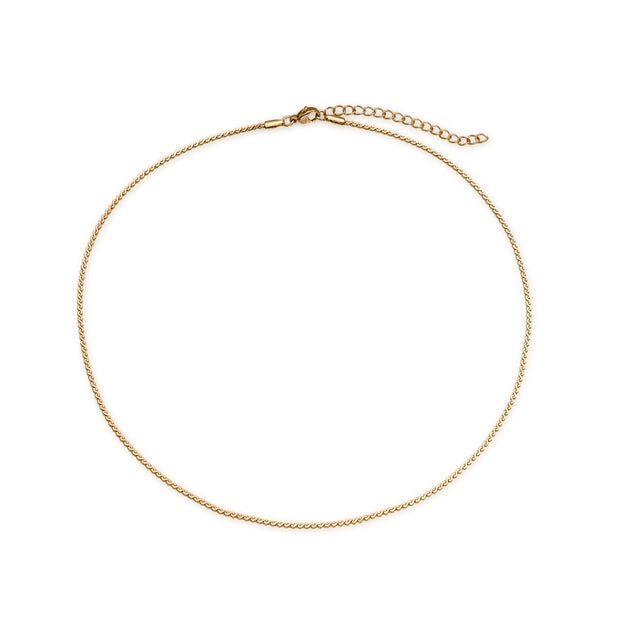 Delicate Rope Chain Necklace
