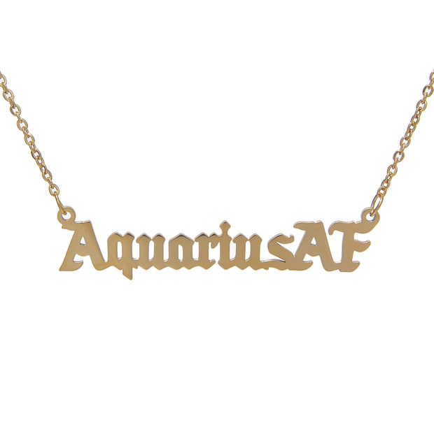 ZodiacAF Necklace