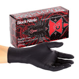GLOVE, BLACK WIDOW, NITRILE, PF EXAM Case of 1000
