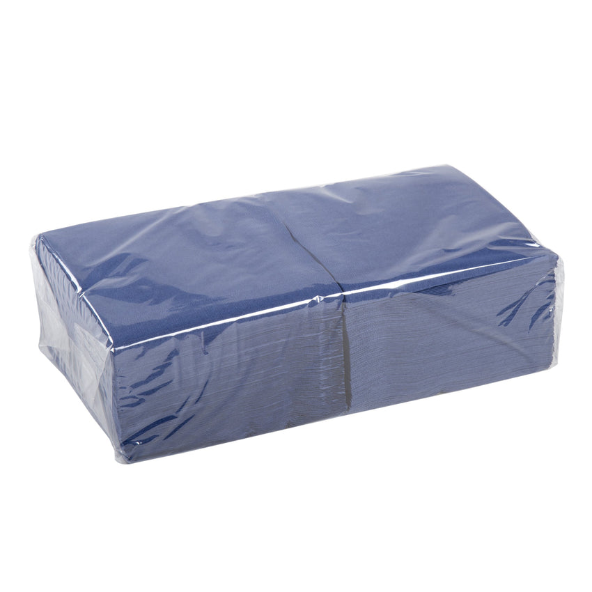 NAPKIN BEVERAGE 2 PLY NAVY 254 mm X 254 mm, Case of 1000